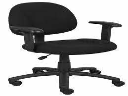 Office Chair With Adjustable Arms 100 Desk Chair With Arms Modern Black Mesh Back Ergonomic