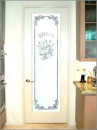 pantry doors with frosted glass etched glass pantry door glass pantry door etched glass pantry door