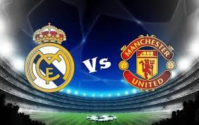 Image result for Manchester United vs Real Madrid clash