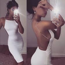 Hot Sale Sexy Dress <b>Solid</b> Black White Summer Dresses Slash ...