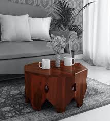 karl solid wood coffee table in
