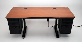 height adjustable office desk. Adjustable Height Office Desk With Optional Drawers I