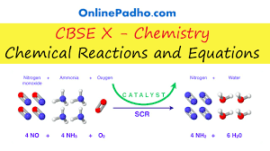 chemical reactions and equations cbse class 10 chapter 1