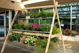 Hanging Basket Display Stand hanging basket display racks Google Search Greenhouse Ideas 2