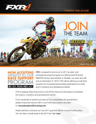Resume Motocross Sponsorship Template Joshua Gibbs Peppapp