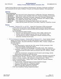 Sample Of 12 Qa Analyst Resume Must Check It Www Mhwaves Com