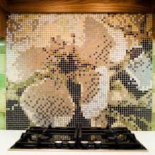 Extraordinary Inexpensive Backsplash Ideas With Mosaic Tiles Design Ideas  And Under Cabinet Lighting For Modern Kitchen