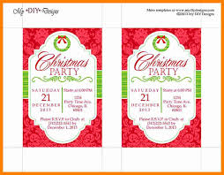 Free Christmas Invitation Template Office Christmas Party Invitation Template Bkperennials