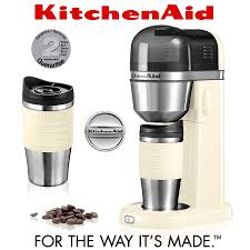 kitchenaid personal coffee maker almond cream