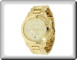 michael kors men s gold chronograph engraved watch at michael kors men s gold chronograph engraved watch