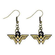 Earrings - Logo Wonder Woman – ARCH Collection