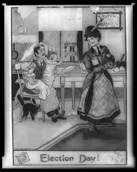 imagery and propaganda history of u s w s suffrage election day library of congress