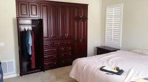 Bedroom cabinet design Clothes Blue Ridge Apartments Built In Bedroom Cabinets