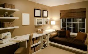 wall mounted home office. Home Office , Basement Design Ideas : With Window Seat Wall Mounted I