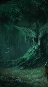 Fantasy girl, angels and fantasy landscape wallpapers for android, iphone x and desktop. Trees Dark Forests Fantasy Art Lonely Warriors Wallpaper 37225