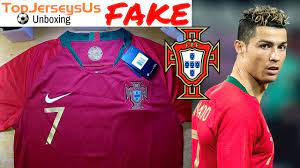 Fake RONALDO 2018 PORTUGAL World Cup Jersey unboxing⚽🔥Home kit  TopJerseysUs.ru - YouTube