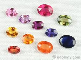 Natural Sapphire Color Chart Fancy Sapphire Pink Yellow Orange Purple Green
