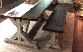 outdoor farm table farmhouse tables for diy with cooler