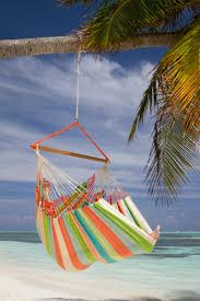 just swinging by the sea in the comfort of a hammock chair ...