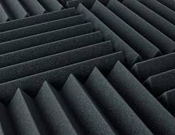 sound deadening foam sound dampening foam 2 inch thick 1 ft by 1 ft pack by