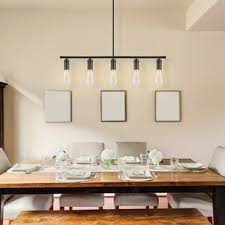 pendant dining room lights.  Room Chromeo 5Light Kitchen Island Pendant And Dining Room Lights