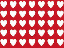 Amazon.com: Red Heart Pattern Gift Wrapping Roll 24