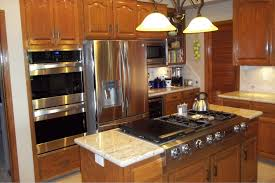 Kitchen Islands With Stove Kitchen Island With Stove Beautifully Rustic Island Features The