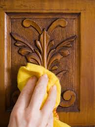 cleaning furniture wood hand polishing wood furniture