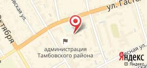 Контрольно счетная палата города Тамбова администрация Россия  Администрация Контрольно счетная палата города Тамбова на карте Тамбова