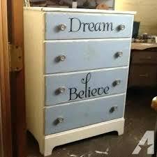 Shabby Chic Dresser Vintage Shabby Chic Dresser Blue And White ...