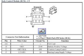 bcm basics  body control module bcm c5