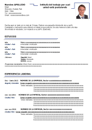 Curriculum Vitae Resumido Ejemplo Resume Pdf Download