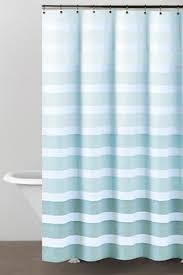 teal striped shower curtain. dkny highline stripe shower curtain teal striped b