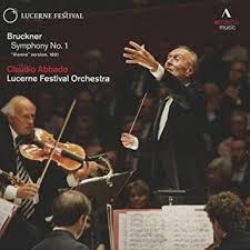 Buy <b>Bruckner</b>: Symphony No 1 [Vienna Version 1891] [<b>Claudio</b> ...