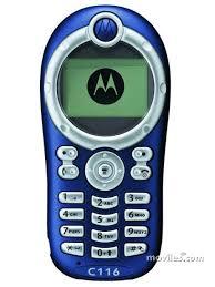 Comparar Motorola C116 y Motorola E360 ...