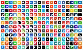 social media logos. 250-free-premium-vector-social-media-icons-2016- social media logos c