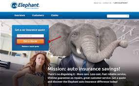 free elephant auto car insurance quote