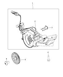 2014 dodge durango engine oil pump thumbnail 1