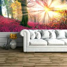 enchanted forest wall decal enchanted forest wall mural enchanted forest wall mural pink trees wallpaper girls