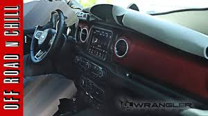 2018 jeep unlimited colors. fine colors 2018 jeep wrangler jl interior leaked images  in jeep unlimited colors