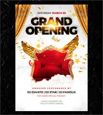 Free Grand Opening Flyer Template 28 Grand Opening Flyer Templates Psd Docs Pages Ai