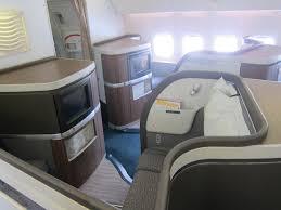777 first class seats 1D u0026 1K