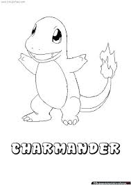 Charmander Kleurplaten Coloring Pages Shshiinfo
