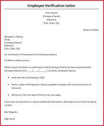 Verification Letter From Employer Income Verification Letter From Employer Sample 8 New