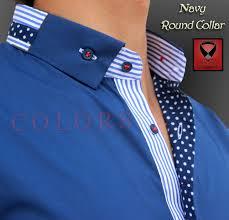 Shirt Kolar Design Round Collar Mens Designer Shirts Mens Kurta Designs
