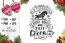 The best selection of free christmas vector art, graphics and stock illustrations. Free Old Fashined Sleigh Rides Svg Di 2020