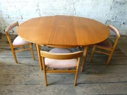 round teak dining table round extending teak dining table 4 chairs retro and vintage extending dining