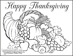 Free Printable Thanksgiving Coloring Pages 0 48093