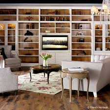 Tres Chic light & airy library in Parisian Apartment Style. | The Decorating  Diva,