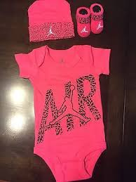 Baby Girl Jordan Clothes Amazing NWT NIKE Air Jordan Jumpman Baby Girl 322322M 32 Piece Set Bodysuits